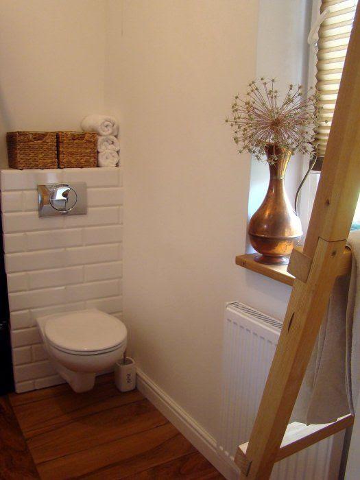 Beata C 1 - galeria - łazienka z białymi kafelkami na ...