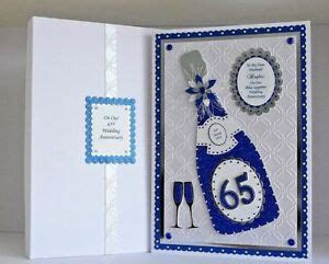 Sapphire 45th/65th Wedding Anniversary Card Husband/Wife