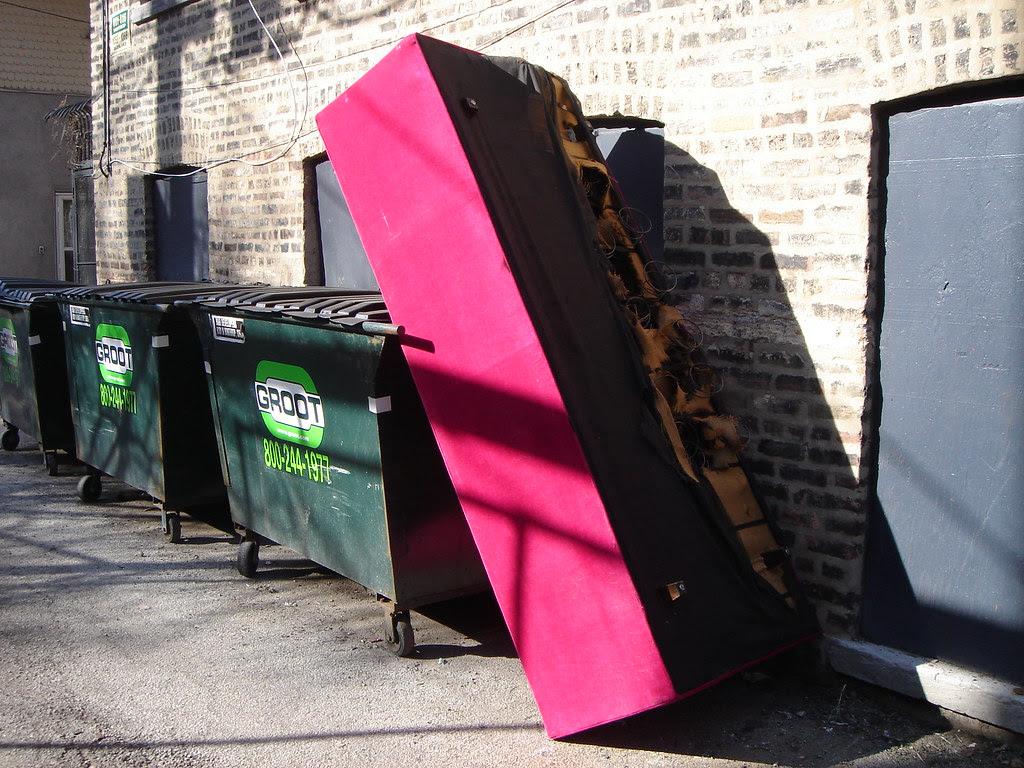 Pink Trash Sofa