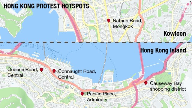 Map: Where protests are
