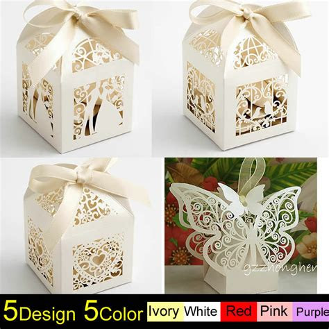 luxury wedding favour favor sweet boxes place
