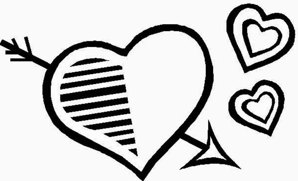 Imágenes De San Valentin Para Colorear Dibujode