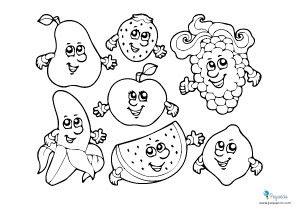 Dibujos Para Pintar Y Colorear Fáciles Más De 100 Pequeocio