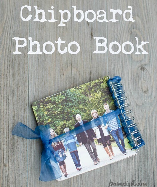 Handmade Chipboard Photo Book