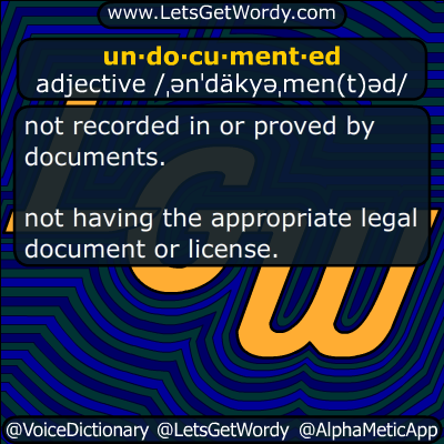 undocumented 02/10/2018 GFX Definition