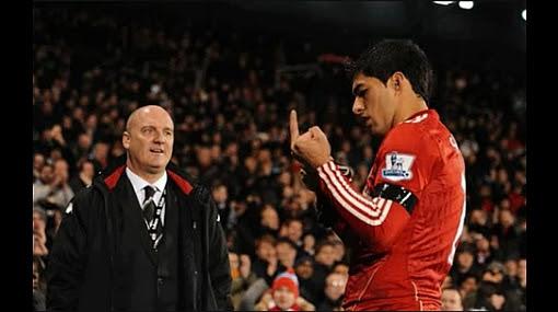 Fútbol inglés, Premier League, Fulham, Luis Suárez, Liverpool  FC