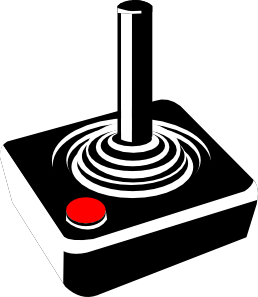 Joystick, Retrogaming, Computer Games