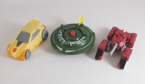 Transformers Minibot Spy Team Classics Henkei Legends - modo alterno
