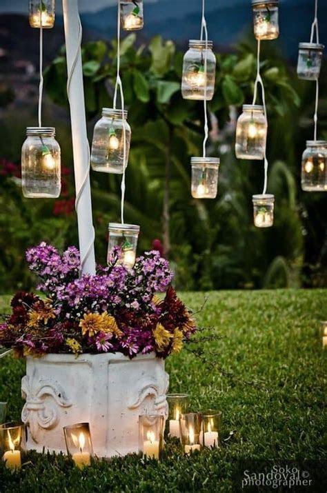 Barattoli di vetro: 10 idee per decorare il vostro matrimonio