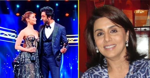 Neetu Kapoor's Post Is Dedicated To Winners Of Filmfare Ranbir And Alia Bhatt