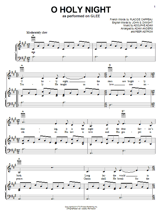 o holy night chords 2015Confession