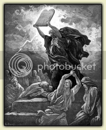 Moses Smash! - Gustave Doré