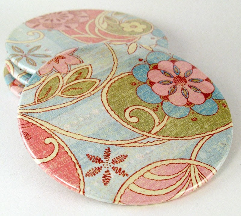 Coasters OR Magnets - mix 'n match set of 4