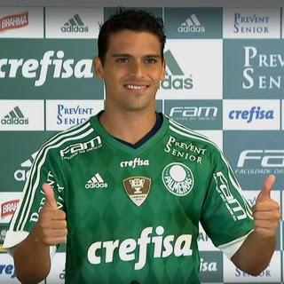Apresentação de Jean no Palmeiras (Foto: Reprodução)