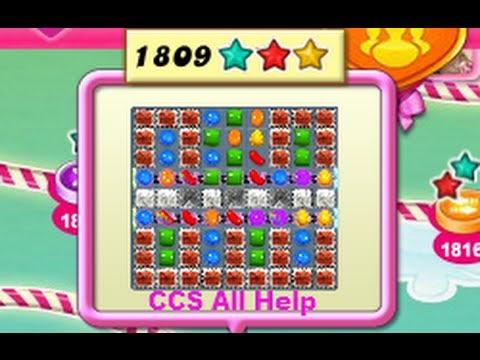 Candy crush saga all help candy crush saga level 1809 - 1600 candy crush ...