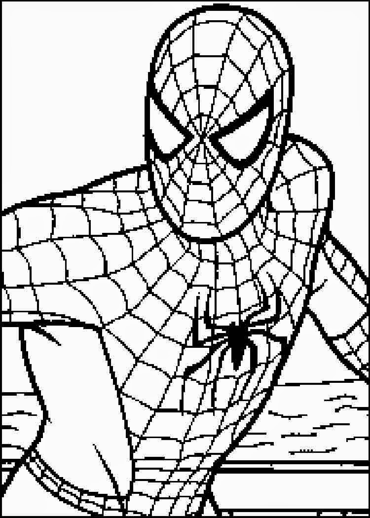 Spiderman Coloring Pages | Free download on ClipArtMag