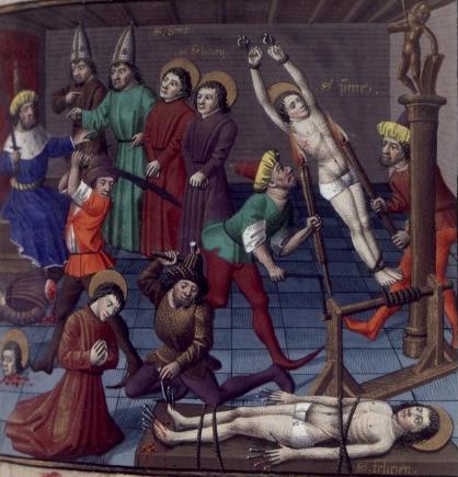 Saints Prime et Félicien, martyrs à Rome († 286)