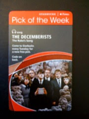 Starbucks iTunes Pick of the Week - The Decemberists - The Rake's Song