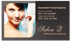 CPS-1035 - salon coupon card