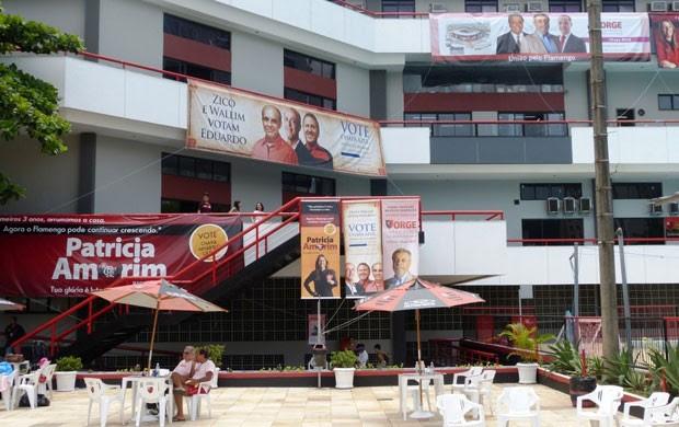 Eleições do Flamengo (Foto: Vicente Seda / Globoesporte.com)