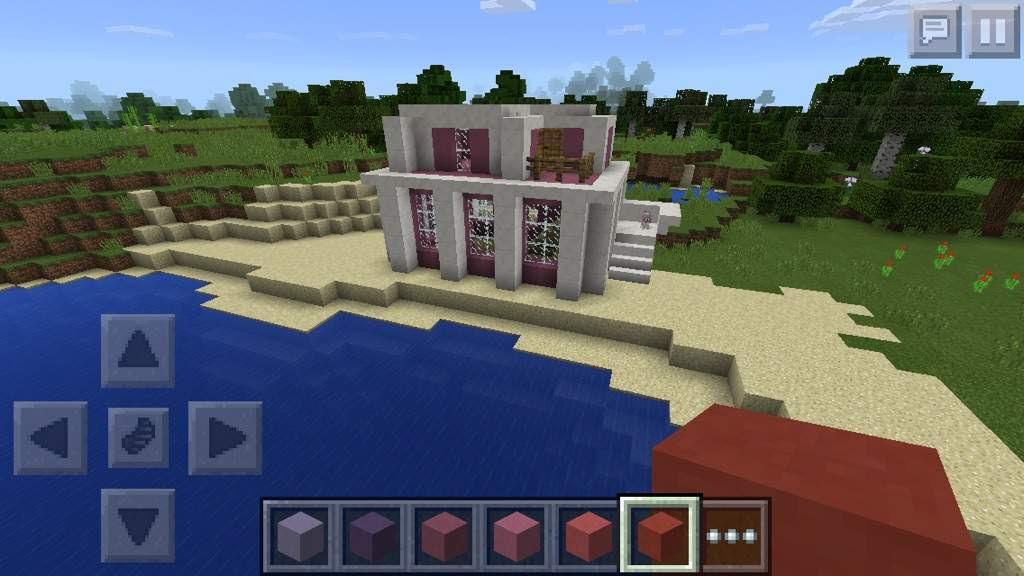 Lizzie inspired beach house | Minecraft Amino