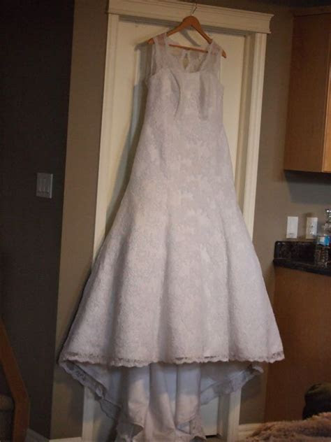 The story of a VERY dirty dress and how she was cleaned