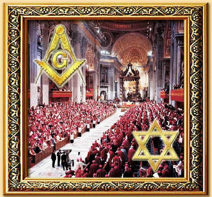 massoneria e giudaismo al concilio