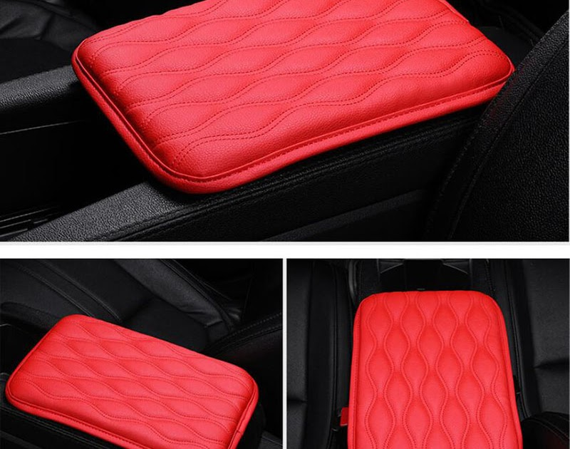 Hot Offer CDCOTN Car Interior Supplies Universal Comfortable Armrest Box Cover Increased Pad