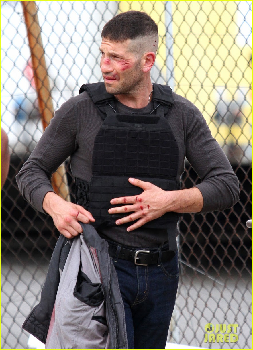jon bernthal cut up on daredevil set 15
