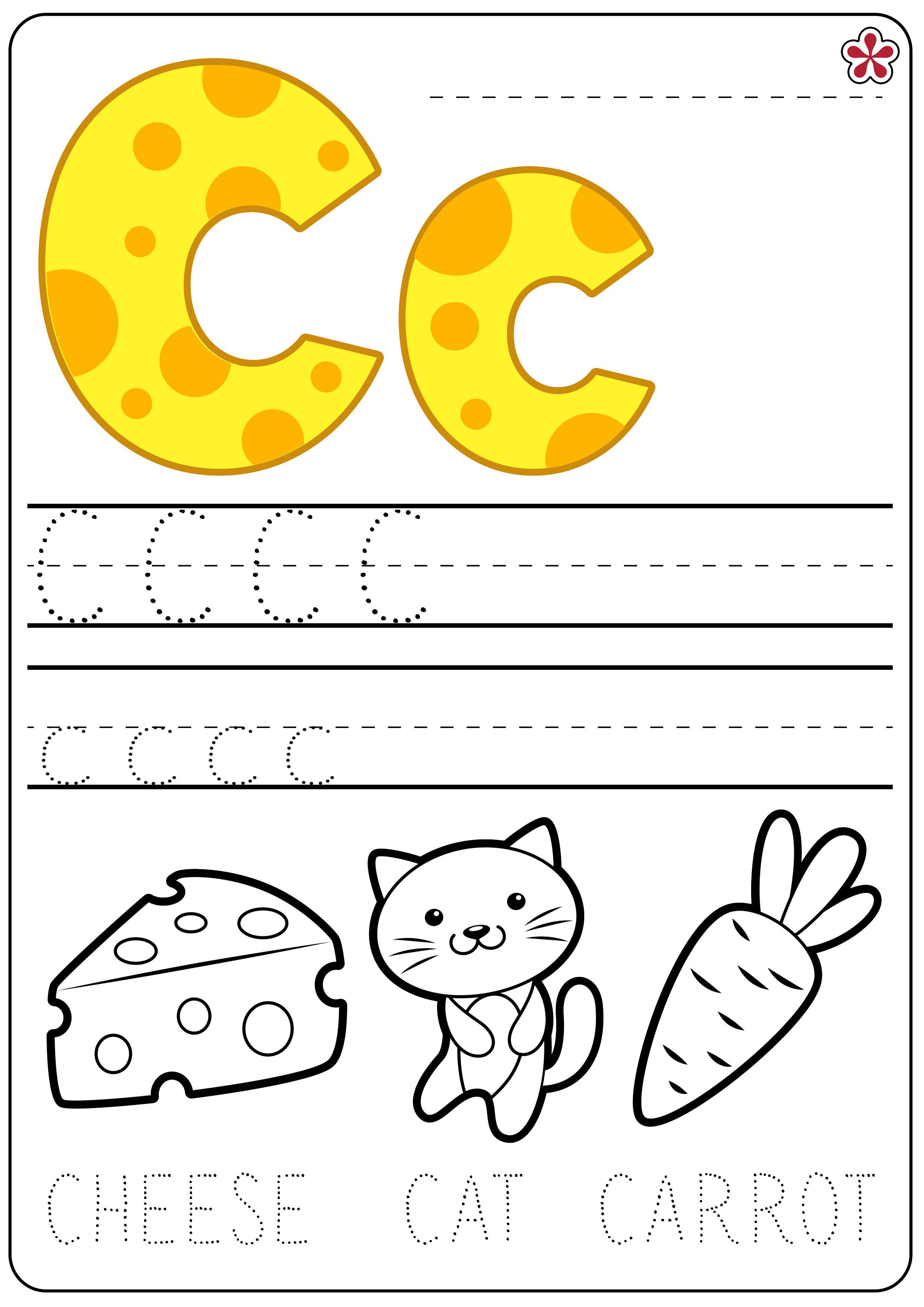 Letter C Worksheets