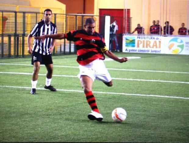 Djalminha Flamengo Atlético-MG Brasileiro showbol (Foto: Max Santos/Divulgação)