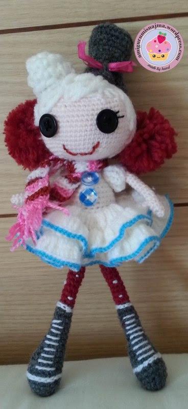 lalaloopsy winter snowflake crochet doll amigurumi-01