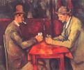 Cezanne. Jugadores de cartas. Ampliar imagen