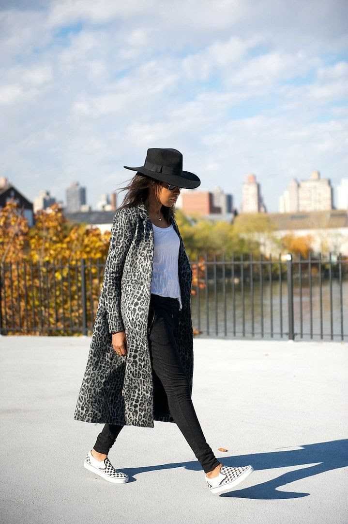 Le Fashion Blog -- 15 Ways To Wear Checkered Vans Slip On Sneakers Blogger Style -- Blogger Karen Blanchard In A Leopard Coat -- Via Where Did U Get That -- photo 5-Le-Fashion-Blog-15-Ways-To-Wear-Checkered-Van-Slip-On-Sneakers-Blogger-Style-Leopard-Coat-Via-Where-Did-U-Get-That.jpg