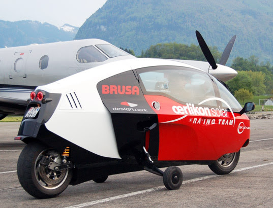 sustainable design, green design, green transportation, Zeroracer, monoracer, zero emissions race, oerliken solar team, ev race, electric vehicle race