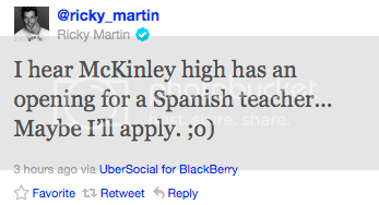 GLEE • Ricky Martin