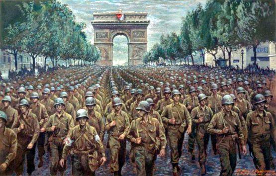 The 28th Division In Paris