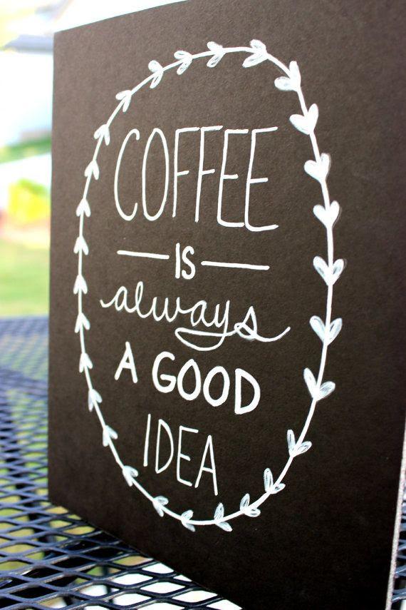 Coffee IS always a good idea #CoffeeMillionaires #Lovemyjob #Workfromhome