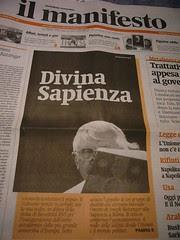 Ratzinger non aprirà l'anno accademico. The st...