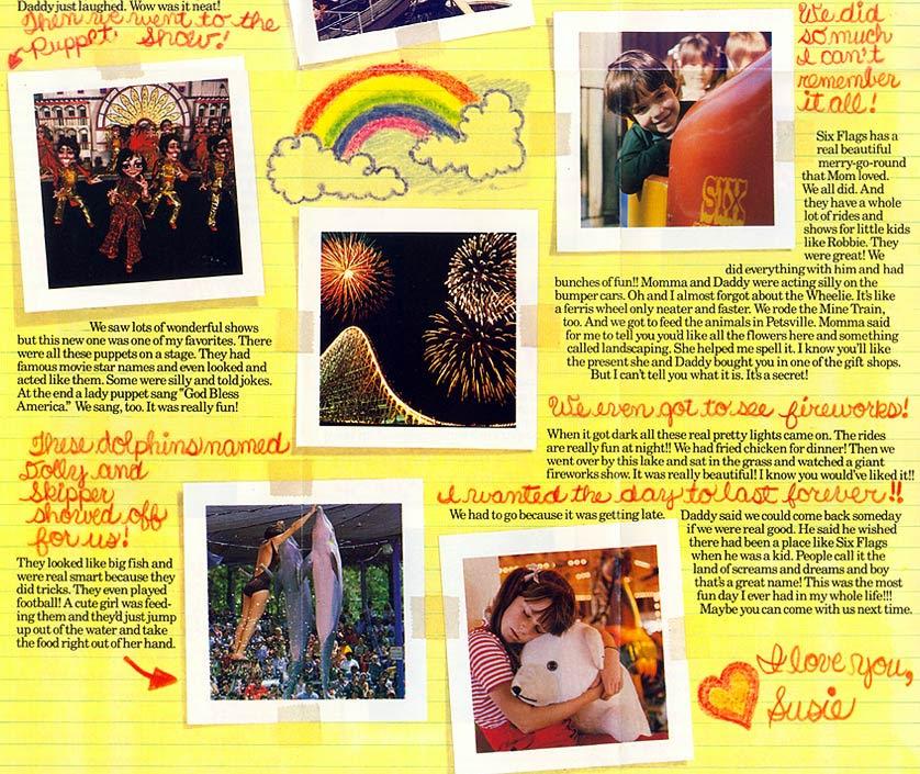 Theme Park Brochures Six Flags Atlanta Theme Park Brochures