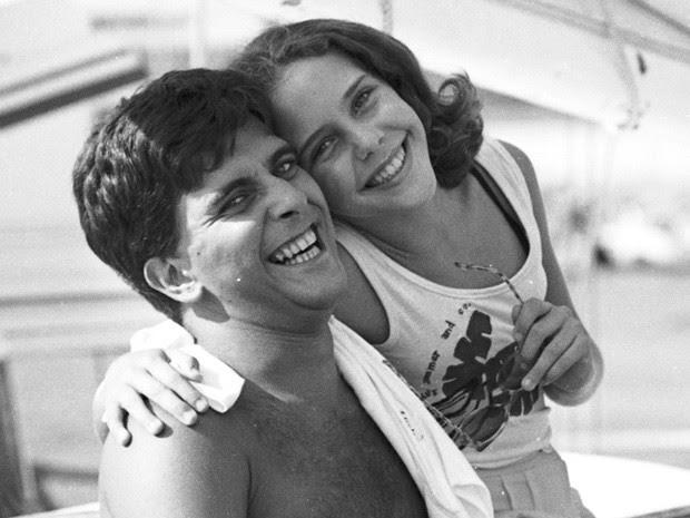 Jorge Fernando e Isabela Garcia em 'Água Viva' (Foto: CEDOC/TV Globo)