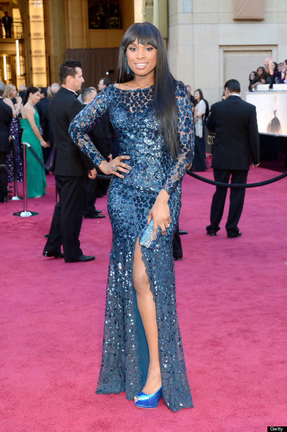 jennifer hudson oscar dress 2013