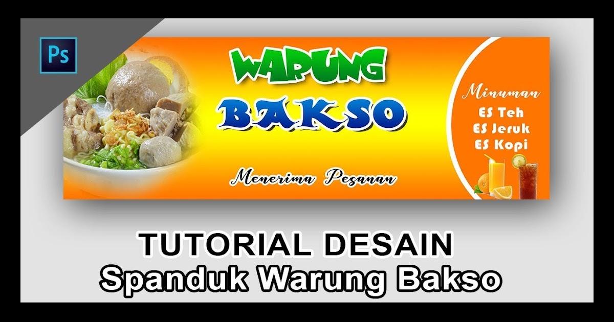 Contoh Spanduk Warung Mie Ayam - desain banner kekinian