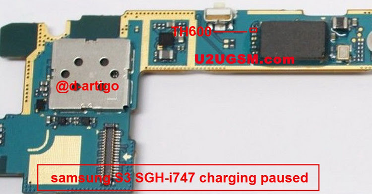 Samsung Galaxy S III Charging Paused Solution Jumpers