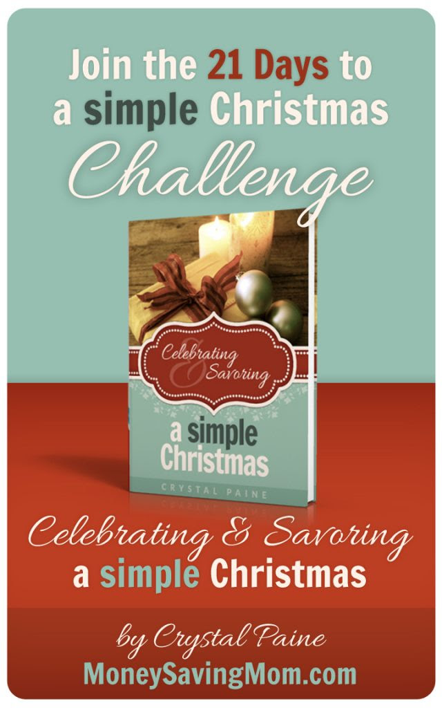 Join the 21 Days to a Simple Christmas Challenge