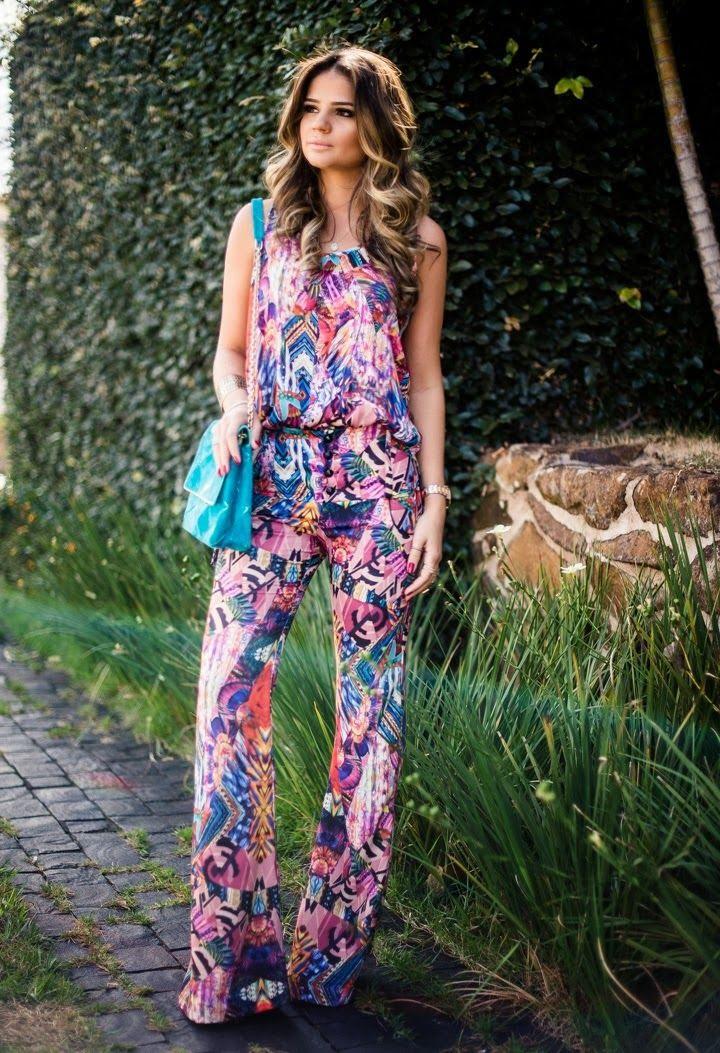 Boletim da Moda: Inspiração do Dia - Estampa & Jeans!