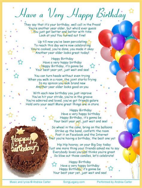 happy birthday original birthday song