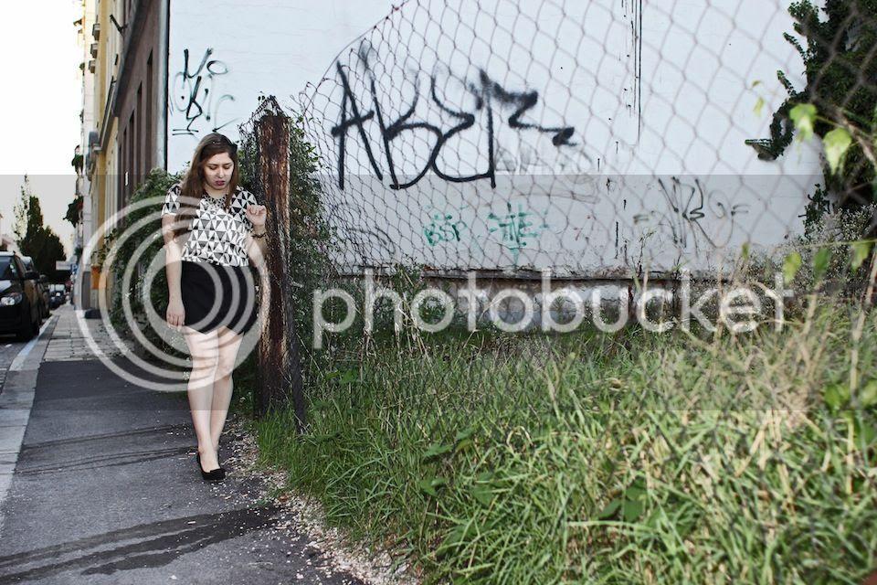 fashion blogger Linz Austria Mode Bloggerin zara skorts
