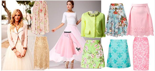 модные летние юбки лето 2014