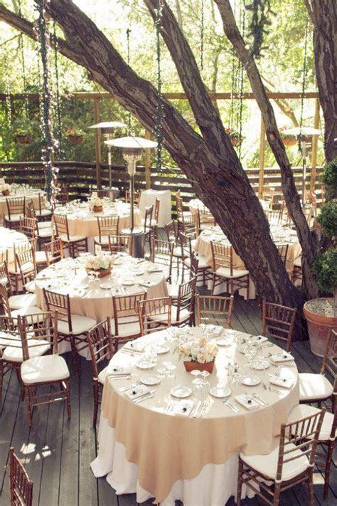 Creative Wedding Reception Table Covering Adoration Idea